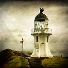 Cape Reinga Lighthouse, New Zealand (II) by Lynne Haselden