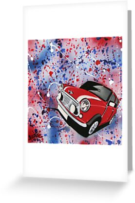 Mini Splatter 01 Painting by Richard Yeomans
