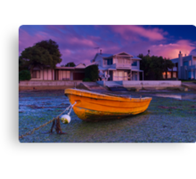 """""""Waiting For The Tide"""" Canvas Print"""