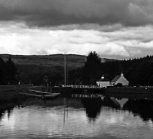 Cullochy Lock Keeper's house. by Mbland