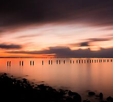 Days End at Clifton Springs Victoria by Graeme Buckland