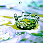 Drop 29 - Water Photography by Sabine Zehetner