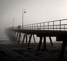 Glenelg Fog by Darryl Leach
