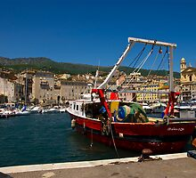 Bastia -The old harbour by Alessandra Antonini