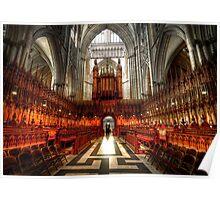 York Minster Glory Poster
