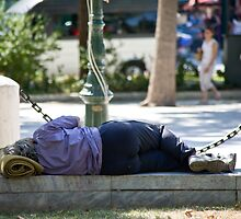 Athenian Snoozer by phil decocco