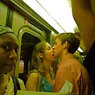 Riding home on the #1 train, NYC by RonnieGinnever