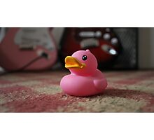 The Pink Duck Photographic Print