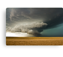 Rotating Supercell in the Palmer Divide, Colorado Canvas Print