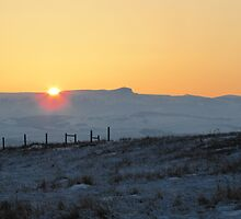 Sunset on the Rockies by Kathi Arnell