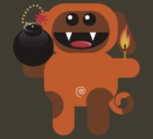 DOG 4 (Cute pet has a bomb and its alight!) by peter chebatte