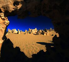 Heart of the Pinnacles desert by Jill Fisher