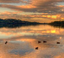 Serenity #2 - Narrabeen Lakes ,Sydney Australia - The HDR Experience by Philip Johnson