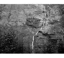 The Alps, Switzerland Waterfall Photographic Print
