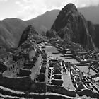 A View of Machu Picchu by Daniel  Archer