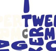 The Blue Box Eleven Sticker