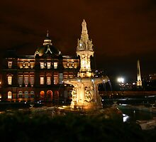 People's Palace & Doulton Fountain by RSMphotography