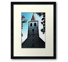 The Church. Framed Print