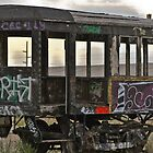 Old Passenger Car by Robert  Miner