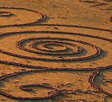 sand spirals by michelle mcclintock
