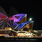 Opera House at Vivid Sydney #1 by rachomini