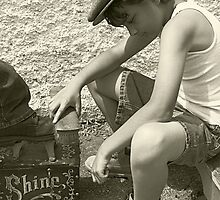 Shoeshine Boy by Cathy O. Lewis