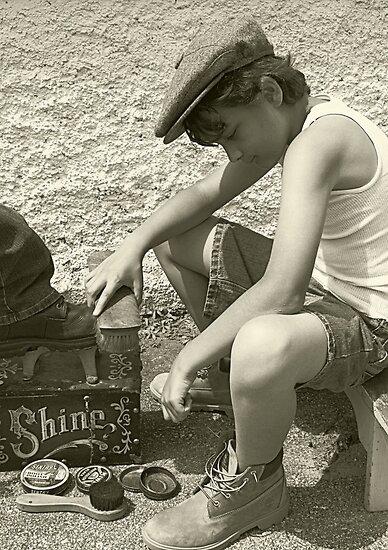 Shoeshine Boy by Cathy O. Lewis