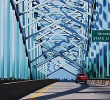 Ohio River Bridge by barnsis