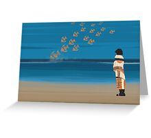 Kafka on the shore - day 29 Greeting Card