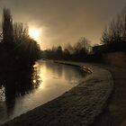 Canal, Kidderminster by Alex Drozd