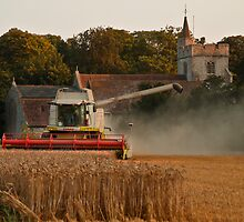 Combine and the church by Nigel Jones