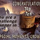 Banner for a TOP TEN challenge winner by Baina Masquelier