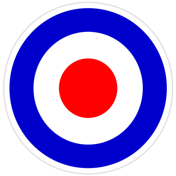 Target Mod Pop Art  by Scooterist