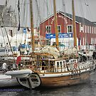 Rupel berthed in Lerwick by NordicBlackbird