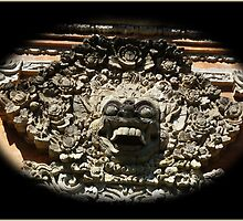 Fierce Doorway Protection Bali by Keith Richardson