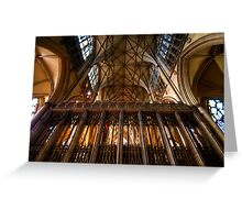 York Minster I Greeting Card