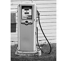 Gas Pump Photographic Print