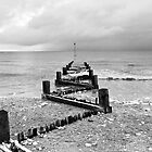 Buried defences - Hunstanton, Norfolk by Geoimages