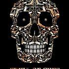 Skull Of Guns by Carlos Aledo Sánchez