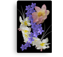 Sea of ​​flowers Canvas Print