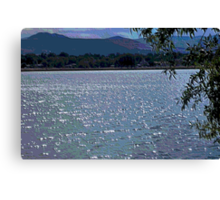 Light on the Water Mosaic Canvas Print