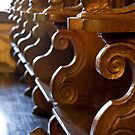 Rhodes Castle Benches by phil decocco