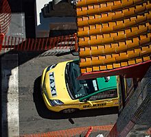 China Town Taxi by mrjaws