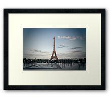 Eiffel Tower PARIS Framed Print