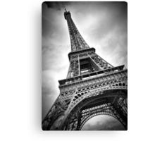 """Eiffel Tower """"dynamic"""" Canvas Print"""
