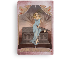 Boticelli Buffy Nouveau Canvas Print