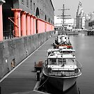Albert Dock by Evette Lisle