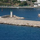 Bodrum Marina And Breakwater Barrier by phil decocco