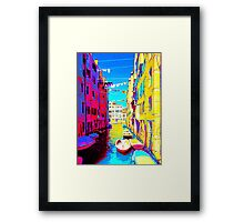 Bella Venezia V Framed Print