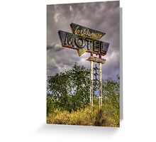 Los Alamos Motel on Route 66 Greeting Card